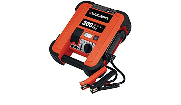 Amazon.com: BLACK & DECKER JUS300B 300-Amp Jump Starter consumer electronics Electronics: Computers & Accessories