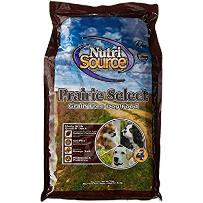Nutrisource Grain Free Prairie Select With Quail Dog Food 5Lb