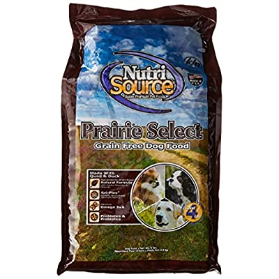 Nutrisource Grain Free Prairie Select With Quail Dog Food 5Lb