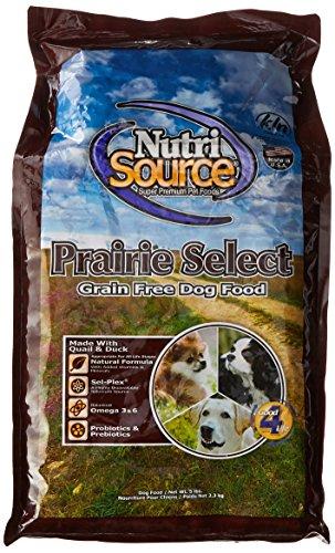 (Nutrisource Grain Free Prairie Select With Quail Dog Food 5Lb)