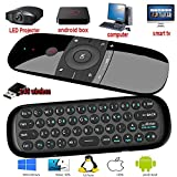 remote control with keyboard,Yongf 2.4G Fly Mouse Mini Wireless Keyboard & Multifunction Portable Remote Control,for Android TV Box/PC/Smart TV/Projector/HTPC/TV