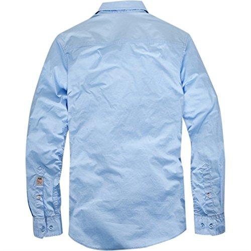 Pme legend hellblaues stretch hemd