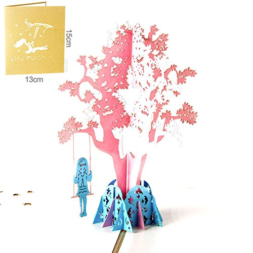 3D Pop Up Cards Wedding Lover Happy Birthday Anniversary Greeting Cards I