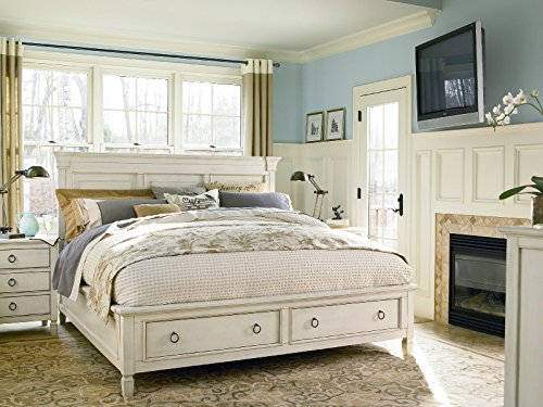 Universal Furniture 987250SB Summer Hill Complete 5/0 Storage Bed, Queen, Cotton
