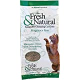 Fresh & Natural Scoop-Able Clay Cat Litter, 20-Pound, Fragrance Free