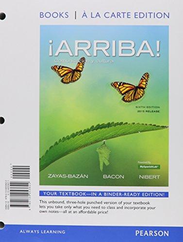 Arriba!   2015 Release (Ll) W/Myspanish