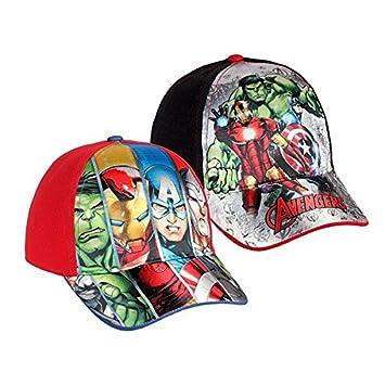 Euroweb Gorra para Chicas y Chicos Avengers Color - Rojo: Amazon ...