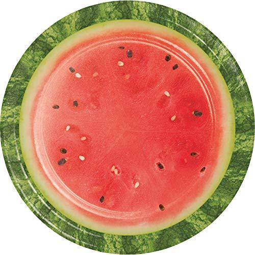 Watermelon Picnic Paper Plates, 24 ct]()