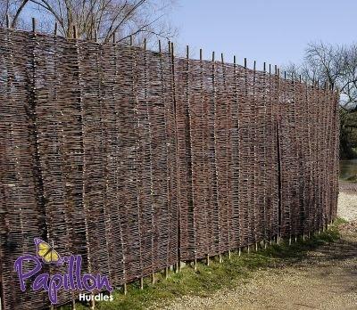 Flechtzaun aus Weide 1.8 m
