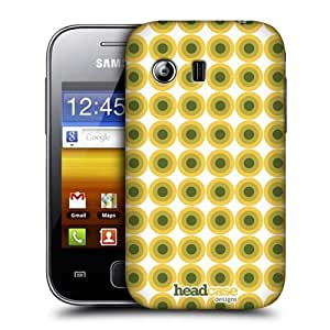 DIY Case Designs Green Circles Mod Patterns Protective Snap-on Hard Back Case Cover for Samsung Galaxy Y S5360 by ruishername