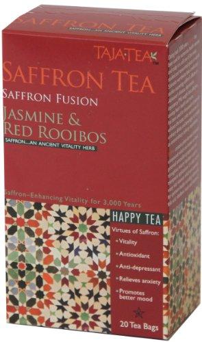 Saffron Jasmine & Red Rooibos Tea 5 pack) - Saffron Tea