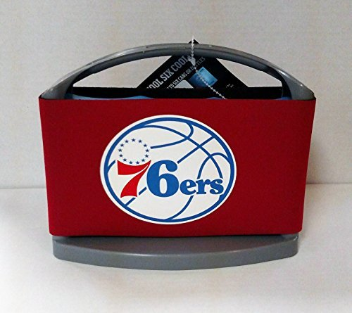 NBA Philadelphia 76Ers Cool Six Cooler by Boelter Brands