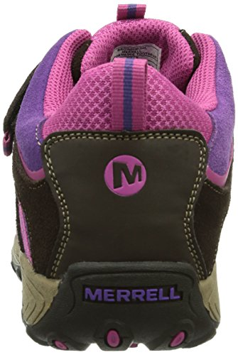 Chaussures Montantes Cham Merrell pnk Randonnée Wtpf Ac brn De Mid Fille Multicolore BSpB0waqnI