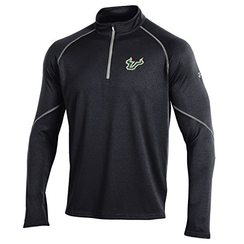 Under Armour NCAA North Dakota Men's Golf 1/4 Zip, Medium, Black