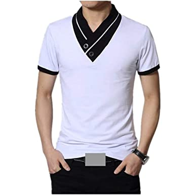 Battercake Camisa De Manga Corta Camisa Camisa Polo Leotardo De ...