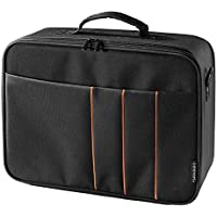 celexon Projector Case | Medium Size | 12,5x9 inches | Projector carrying case with hard shell frame | Detachable shoulder strap | Customizable interior | Projector case for Epson, Acer, Benq, LG,...