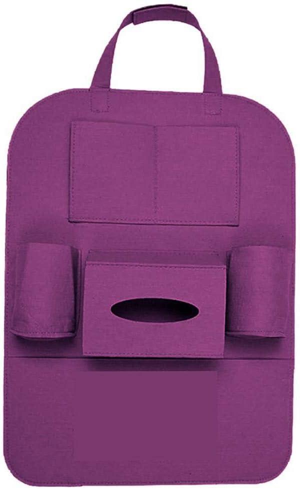 sholdnut Car Seat Back Organizer Multi-Pocket Holder Car Backseat Organizer for Kids Storage Bottles Tissue Box Toys