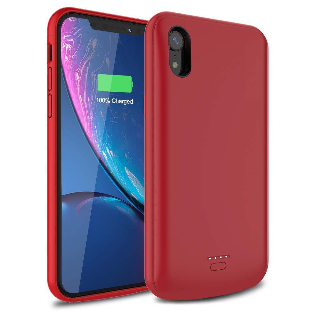 Funda Con Bateria de 5000mah para Apple Iphone Xr WAVYPO [7RSR12BX]