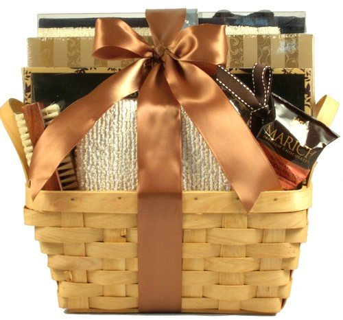 Gift Basket Village Tuscan Hills Spa Collection for Women, Honey Vanilla, 5 Pound