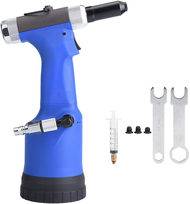 Remachadora Neumática, Pistola Hidráulica con Fuerte Tensión para Decoración, Automoción, Contenedor, Electrodoméstico, Instrumento