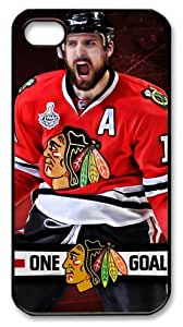 icasepersonalized Personalized Protective Case For Iphone 4/4S Cover NHL Chicago Blackhawks #10 Patrick Sharp