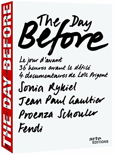 The Day Before (Volume 1) - 4-DVD Box Set ( Sonia Rykiel / Jean-Paul Gaultier / Fendi / Proenza Schouler ) ( The Day Before - Volume One ) by - Fendi Online