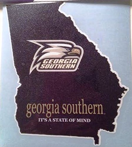 Georgia Southern It 's A State of Mind Car Decal – GA Southern Eagles自動ウィンドウステッカー B015P8FNB2  - -