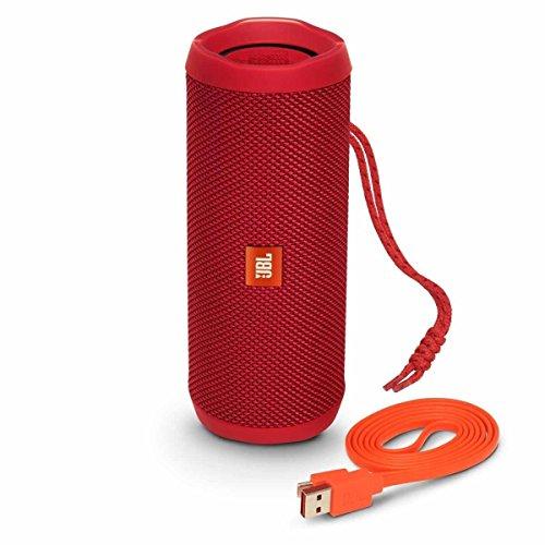 JBL Flip 4 Portable Bluetooth Speaker Red JBLFLIP4REDAM