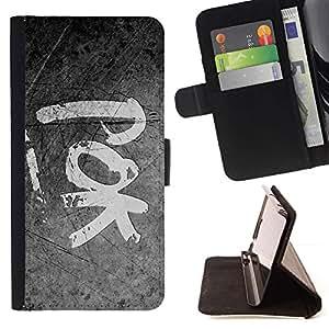 For Samsung Galaxy E5 E500 Case , POK- la tarjeta de Crédito Slots PU Funda de cuero Monedero caso cubierta de piel