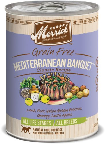 Merrick Mediterranean Banquet Dog Food 13.2 oz (12 Count Case), My Pet Supplies