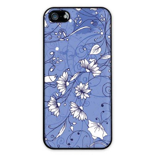 Diabloskinz H0081-0004-0034 Violet Flower Schutzhülle für Apple iPhone 5/5S