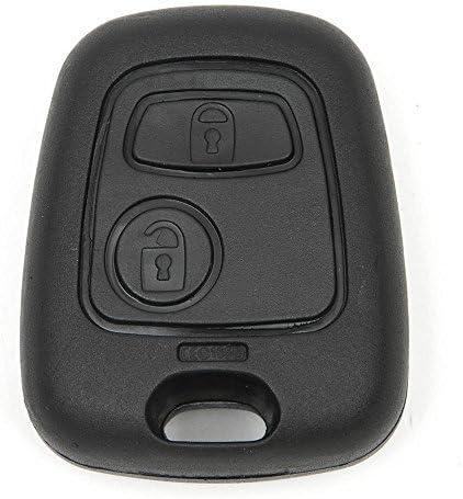 Jellbaby 2/pulsante chiave KEYLESS Remote Fob Shell per Citroen c1-c4/Peugeot 206/207/306/307