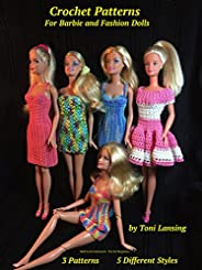 Crochet Patterns for Barbie and Fashion Dolls
