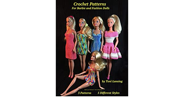Amazon Crochet Patterns For Barbie And Fashion Dolls Ebook