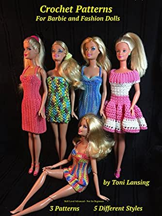 Amazon.com: Crochet Patterns for Barbie and Fashion Dolls eBook ...