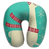 Scorpio Llama Alpaca Lightweight Travel Pillow Spa U SHAPE For Toddler Car Seat Person