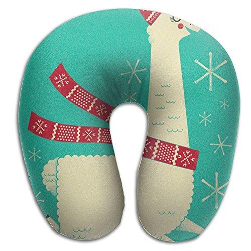 Scorpio Llama Alpaca Lightweight Travel Pillow Spa U SHAPE For Toddler Car Seat Person by Scorpio (Image #1)