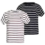 Fred Perry - Fred Perry white striped women's t-shirt