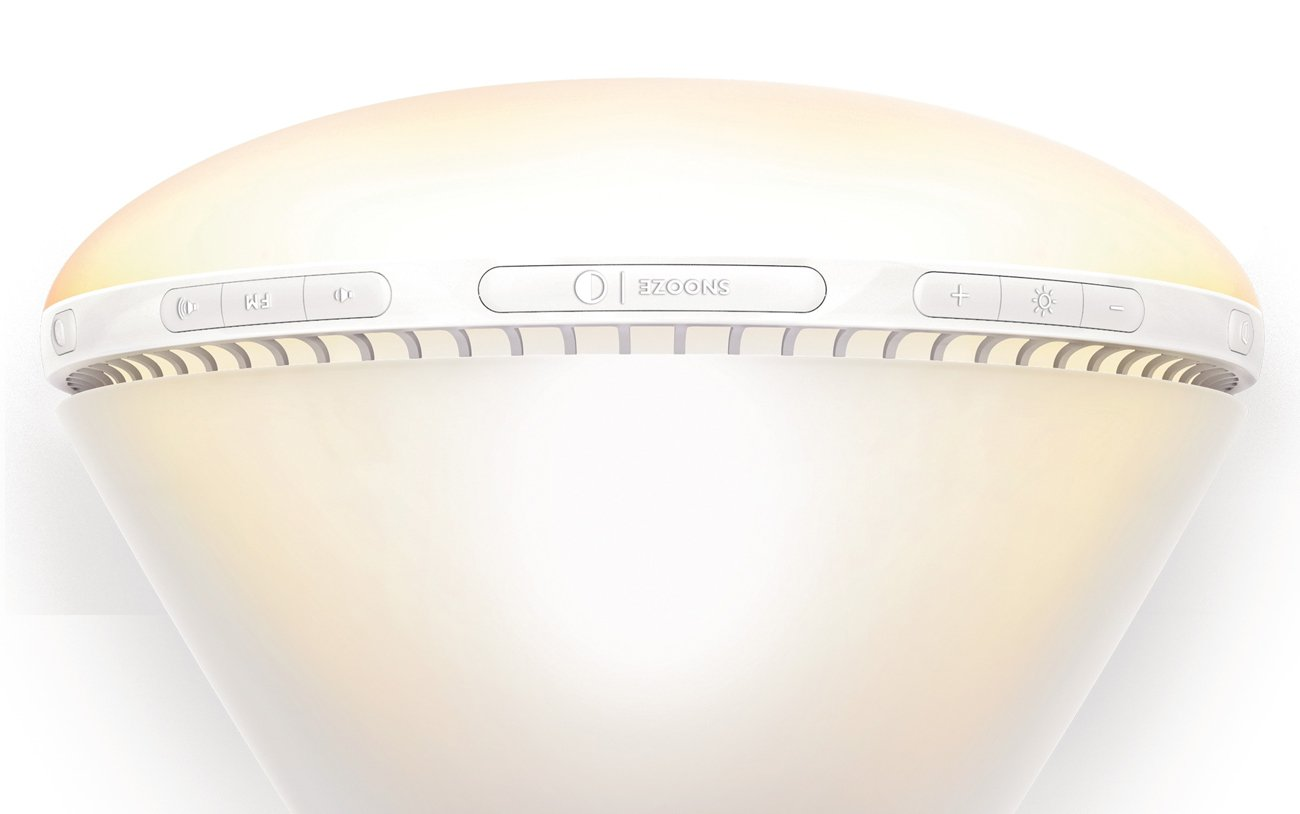 Philips Wake-Up Light with Sunrise Simulation alarm clock and Sunset Fading Night Light, White HF3510 by Philips (Image #3)