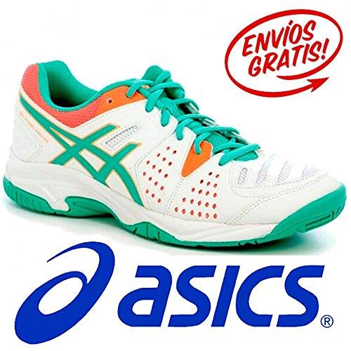 Asics Gel-Padel Pro 3 Gs Tennisschuhe White/Cockatoo