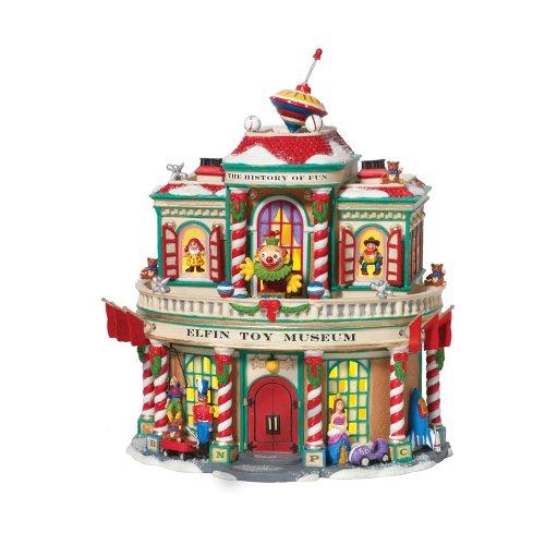 Department 56 North Pole Elfin Toy Museum Building]()