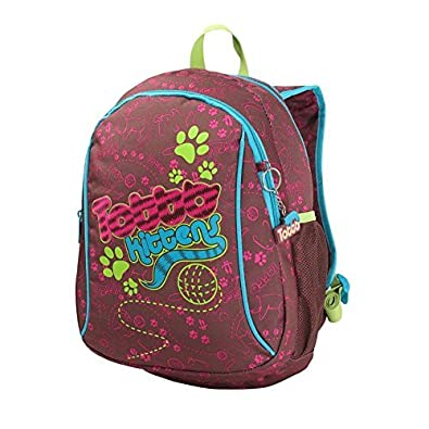 Totto - backpack kids lynce, Brown: Amazon.co.uk: Shoes & Bags