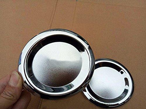 ABS Chrome Feux antibrouillard avant Cover Trim 2 pcs pour accessoire de voiture BZVT