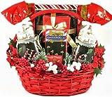 Sweet Holiday Greetings Gourmet Christmas Gift Basket