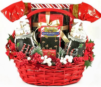 Sweet Holiday Greetings Gourmet Christmas Gift Basket by Gifts to Impress