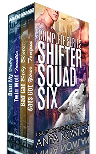 Shifter Squad Six: Complete Series (Reader White Box)