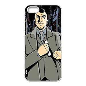 grand theft auto chinatown wars iPhone 4 4s Cell Phone Case White Customized Items zhz9ke_7322542
