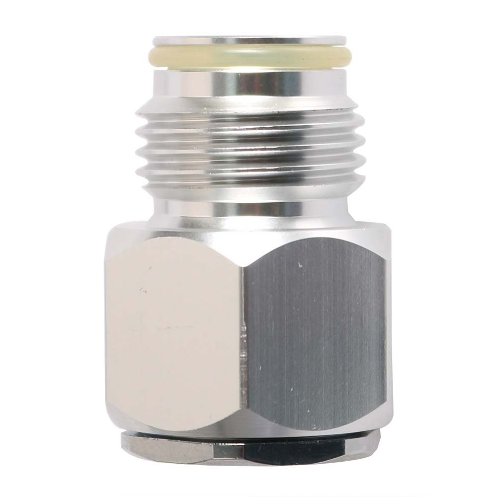 Interstate Pneumatics WRCO2-320R-58 In CO2 Disposable (5/8-24 UNF) Mini Tank to Out CO2 Paintball (G1/2-14) Tank Adapter by Interstate Pneumatics
