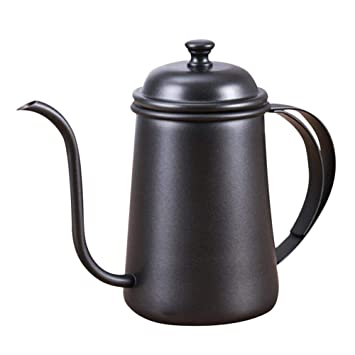 Pour over - Cafetera de émbolo, French Press 650 ml Premium Acero ...