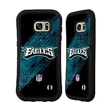 Official NFL Blur Philadelphia Eagles Logo Hybrid Case for Samsung Galaxy S6 edge+ / Plus